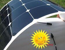 50W flexible solar panel motorhome, camper van, boat, sailing yacht New