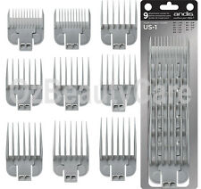 Andis Snap-On Blade Attachment Combs, 9-Comb Set-66350