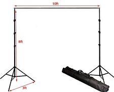 Fancierstudio 8.5ft x 10ft background stand backdrop stand background stand kit