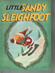 Little Sandy Sleighfoot 1957 Christmas Sheet Music