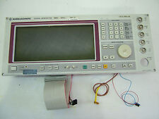 Front Panel for SMP02 signal generator 1035.5005.02 Rohde & Schwarz