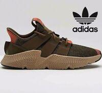 🔥 Adidas Originals PROPHERE ® ( Men Size UK: 7 EUR 40.5 ) Trace Oliver Red