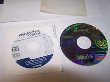 Corel Word Perfect Office 12 and microsoft Works 2000