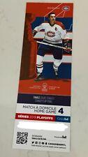 unused season hockey tickets Montreal Canadiens Jean Béliveau