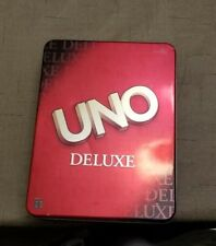 UNO Deluxe Toys R US Exclusive Mattel B0001 Tin