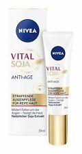 Nivea Vital Teint Optimal Anti-Age Eye Care Cream 15ml - New & Sealed UK