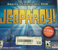 Jeopardy! America's Favorite Quiz Show (CD-ROM, 2003) NEW/SEALED