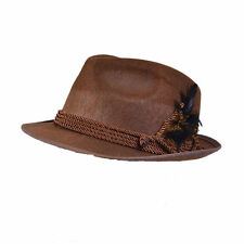 Bristol Novelty BN-BH574 Mens Oktoberfest Hat - Brown