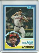 2018 Topps Series 1 Justin Verlander 35th Anniversary Blue Parallel 83-98 Astros