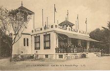 CARTE POSTALE LA ROCHELLE CAFE-BAR DE LA NOUVELLE PLAGE