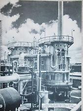 PHOTO CRACKING DE GAZ NATUREL OFFICE NATIONAL INDUSTRIEL AZOTE FORMAT 31 x 24 cm