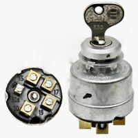 Zündschloss E30 ( 5 Pin, 4 Stellungen) passend für Linde, Jungheinrich, Stapler