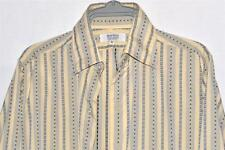"Moss Bros Covent Garden Long Sleeved Shirt 15.5"" 100% Cotton Long Length *Clean*"