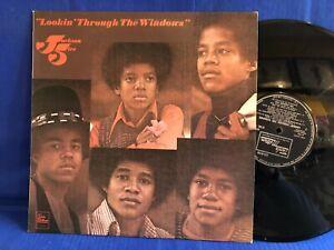 JACKSON FIVE LOOKIN THROUGH WINDOWS STML 11214 ORIGINAL UK LP EXC+