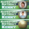 2 X personalized birthday banner party football photo boys girls any name ages