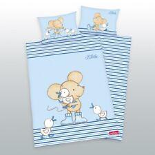 Kinder Bettwäsche Maus Lillebi Ente 100x135 40x60 cm
