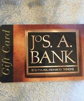 JOS. A. BANK --- Gift Card --- $75 Value --- Free Shipping