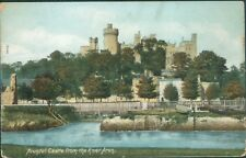 Arundel castle from arun; 1906