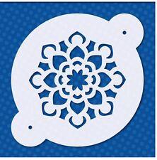 Flexible Stencil *MANDALA CIRCLE* Embossing Flower Card Making - 9.5cm x 9.5cm