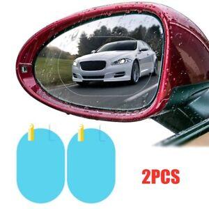 2 Universal Anti Fog Anti-glare Car Rearview Mirror Trim Film Cover Accessories