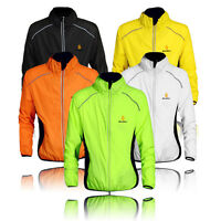 Cycling Jacket Highly Visibility/Hi Viz Windproof/Breathable Bicycle Riding Coat
