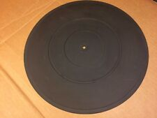 """Rubber Mat 12"""" for vintage turntable marked D-3"""
