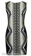 Party Stretch, Bodycon Geometric Dresses for Women
