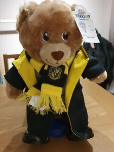 BUILD A BEAR HUFFLEPUFF NWT HARRY POTTER WITH ACCESSORIES