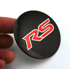 "4pcs RS CAMARO  CHEVY WHEEL CENTER CAP EMBLEMS ALUMINUM STICKERS DECAL 56mm 2.2"""