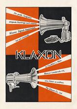 Klaxon signal appareils voiture Klaxon Frankfurt am Main affiche Braunbeck moteur a3 282