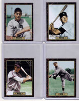 Lot of 4: Mantle/Babe Ruth/Stan Musial/Ted Williams Ultimate Card Collection 🔥