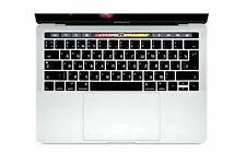HRH Russian Silicone Keyboard Cover Keypad Skin for New MacBook Pro 13 15 Ret...