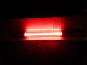 5 PCS 10 IN NEON LIGHT ROD RED PIPEDREAM TUBE GLOW 12 V CAR BOAT MOTORCYCLE