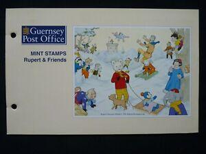 GUERNSEY PRESENTATION PACK. 1993. RUPERT AND FRIENDS