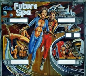 NEW Unused Bally FUTURE SPA pinball Rubber RING KIT Marco playfield replacement