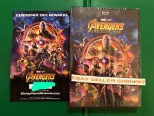Avengers: Infinity War DVD **AUTHENTIC W/ DISNEY REWARDS POINTS INSERT READ**