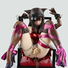 Japan Anime Cat And Chairs Chukana 1/8 Scale Painted PVC Figure Cast Off  No Box