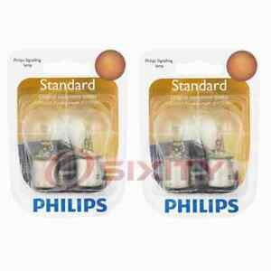 2 pc Philips Tail Light Bulbs for Cadillac BLS 2007-2008 Electrical Lighting vw