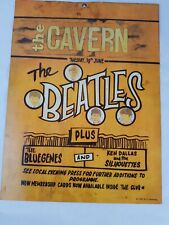 The Beatles at the Cavern Club poster Vintage metal sign