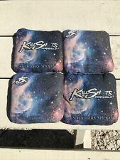 New listing Killshots Cornhole Bags 357 Shoot For The Stars