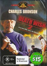 DEATH WISH 2 - CHARLES BRONSON - NEW & SEALED DVD
