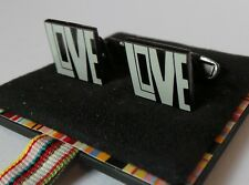 Paul Smith BLACK & WHITE LOVE CUFFLINKS CUFF LINKS BNIB