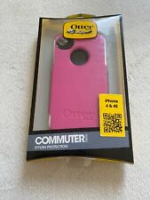 OEM OtterBox Commuter Series Phone Case for Apple iPhone  4 & 4S Pink/ White