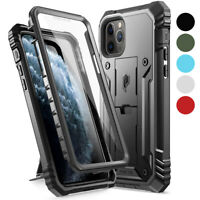 Apple iPhone 11 Pro Max Case [w/Kick-stand] Poetic Dual Layer Shockproof Cover