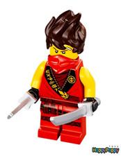 Lego Ninjago 71704 Minifigur Minifig Kai Legacy Neuware New