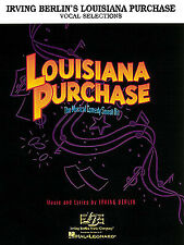 Louisiana Purchase Musical Vocal Piano Sheet Music Irving Berlin Songs Book