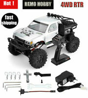 Remo 1093 1:10 RC Car 4WD Electric 2.4G Double Steering Crawler Buggy Truck