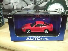 Porsche 911 Turbo (996) in Red Diecast  scale 1/64 by Autoart 20311