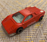 Vintage Marjorette Lamborghini Countach No. 237 1/56 Scale HTF Red
