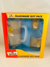 The Simpsons Glassware Gift Pack Homer 2001